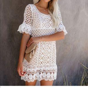 Vici crochet lace dress